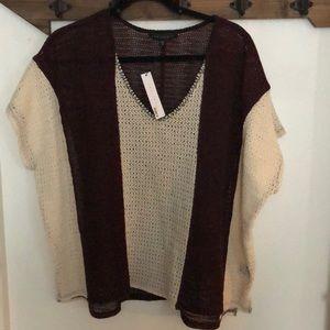 Poncho Flowy Knit Top